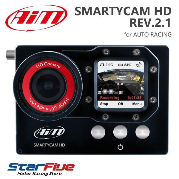 Aim SMARTYCAM HD REV.2.1 デジタルビデオカメラ 車載オンボード(エーアイエム)|star5