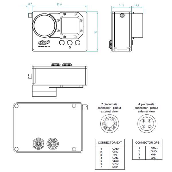 Aim SMARTYCAM HD REV.2.1 デジタルビデオカメラ 車載オンボード(エーアイエム)|star5|06