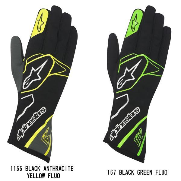 アルパインスターズ レーシンググローブ カート用 内縫い TECH1-K alpinestars 2018-2019年モデル star5 02
