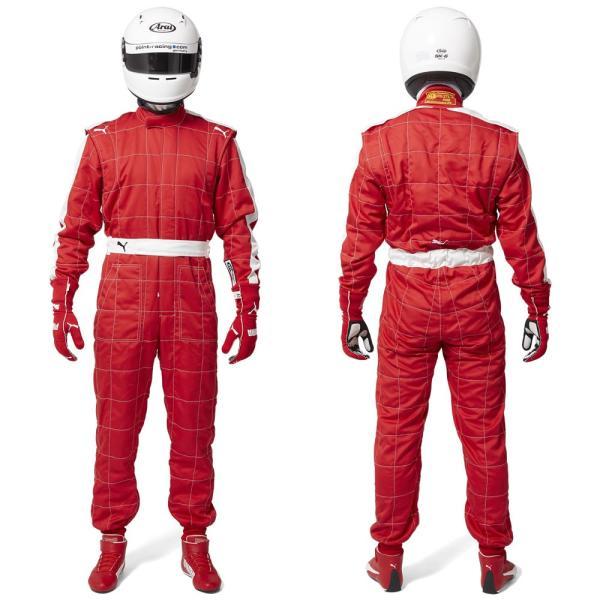 プーマ レーシングスーツ 4輪用 T7 FIA8856-2000公認 PUMA|star5|02