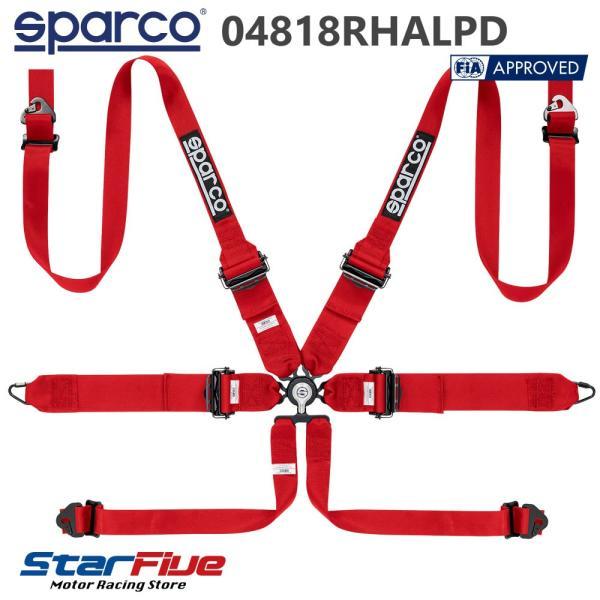 スパルコ 6点式シートベルト 04818RHALPD ツーリングカー用 FIA8853-2016公認 Sparco|star5