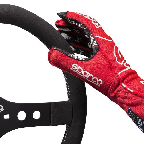 スパルコ レーシンググローブ 4輪用 外縫い ARROW RG-7 EVO(アロー)Sparco  FIA2000公認 (サイズ交換サービス)|star5|08
