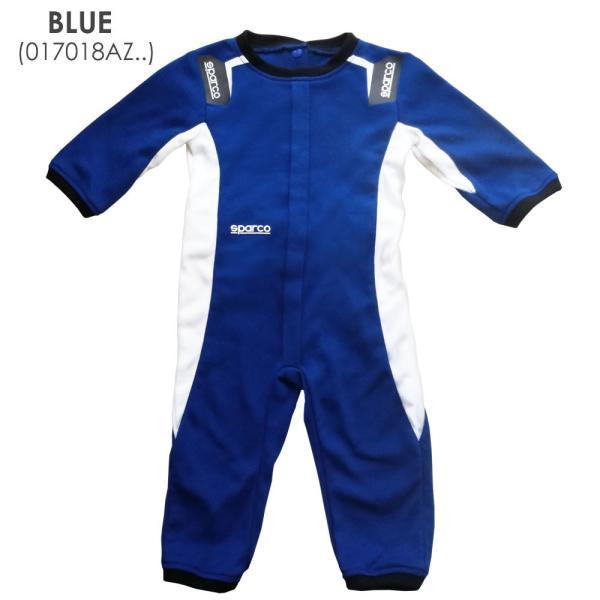 スパルコ  ベビー服 レーシングスーツ風パジャマ カバーオール BABY SLEEPSUIT Sparco|star5|02