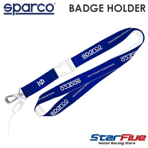 スパルコ ネックストラップ BADGE HOLDER Sparco|star5