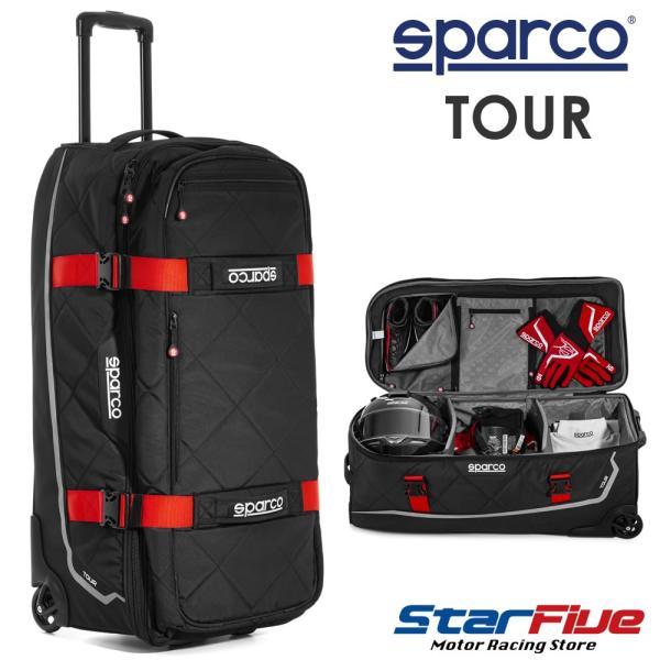 スパルコ キャリーバッグ TOUR (ツアー) Sparco 2020年モデル star5