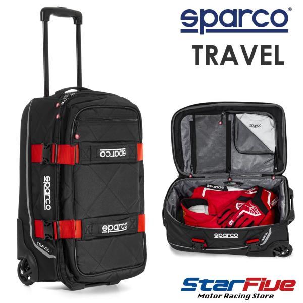 スパルコ キャリーバッグ TRAVEL (トラベル) Sparco 2020年モデル|star5