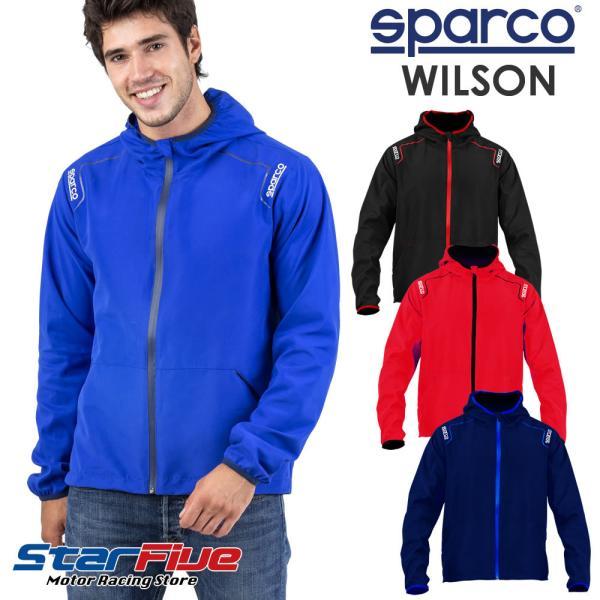 スパルコ ナイロンジャケット ウインドブレーカー WILSON (ウイルソン) Sparco 2020年モデル|star5