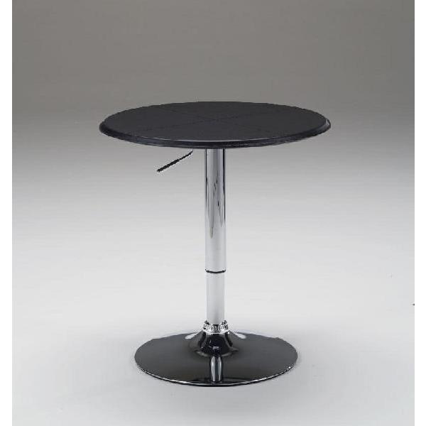 ターンテーブル バーテーブル カウンターテーブル モダンデザイン レザー張りタイプ 昇降式 セール hawks_sale14|star|02