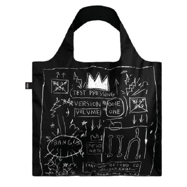 ローキー エコバッグ LOQI ジャン ミシェル・バスキア Jean-Michel Basquiat ブランドエコバッグ ショッピングバッグ