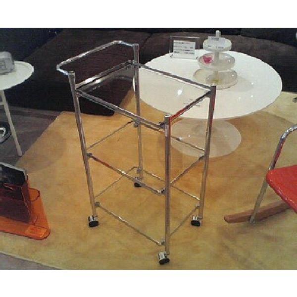 ガラスワゴン(スクエア) キッチンワゴン 四角 シンプルデザイン セール hawks_sale14|star
