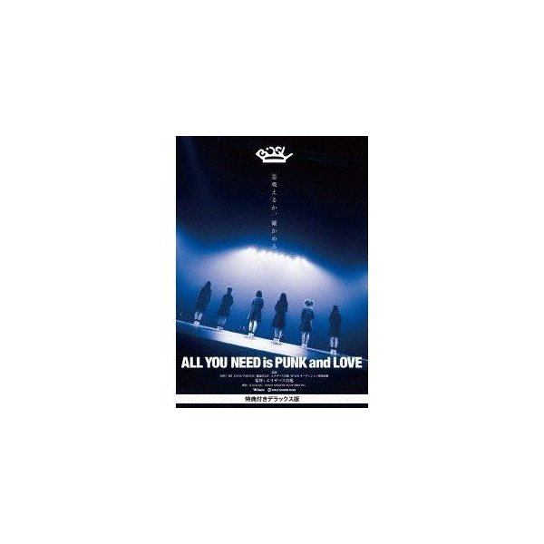 All YOU NEED is PUNK and LOVE 特典付きデラックス版 [DVD]