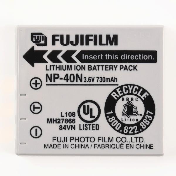 FUJIFILM フジフィルム 純正 NP-40N バッテリー NP40N
