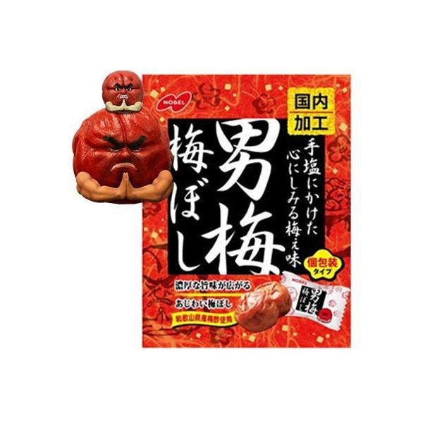 男梅梅ぼし 52g / ノーベル製菓 男梅