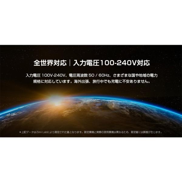 ZMI USB急速充電器 2ポート 18W 3.6A ACアダプタ コンセント PSE認証済み QC3.0対応 折畳式プラグ 超コンパクトサイト ZMI 正規代理店品 18ヶ月保証 HA622|starq-online|11