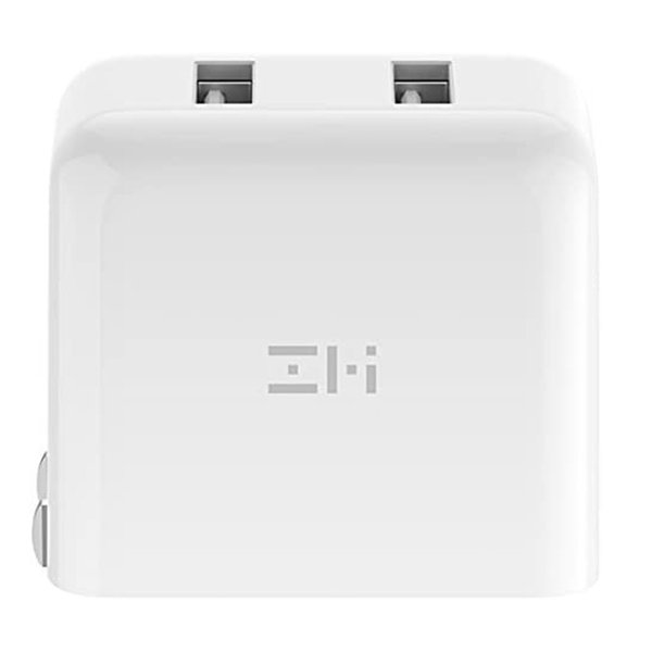 ZMI USB急速充電器 2ポート 18W 3.6A ACアダプタ コンセント PSE認証済み QC3.0対応 折畳式プラグ 超コンパクトサイト ZMI 正規代理店品 18ヶ月保証 HA622|starq-online|03