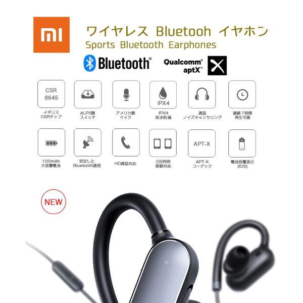 【国内正規品】Xiaomi Bluetooth ワイヤレス イヤホン(カナル型) 生活防水防汗7時間連続再生 apt-Xコーデック対応 技適認証済 1年保証付|starq-online|02