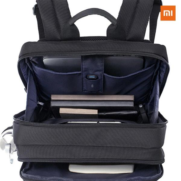 【正規品】Mi Business Backpack (ブラック) |  Xiaomi (小米、シャオミ) ビジネス/旅行 リュックサック |starq-online|07