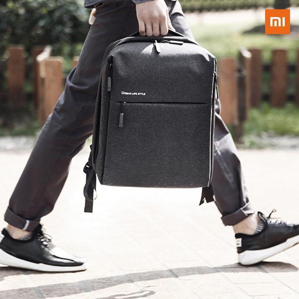 【正規品】Mi City Backpack (ダークグレー / グレー) |  Xiaomi(小米、シャオミ)リュックサック|starq-online|08