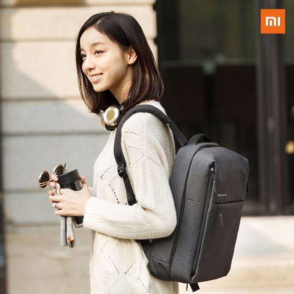 【正規品】Mi City Backpack (ダークグレー / グレー) |  Xiaomi(小米、シャオミ)リュックサック|starq-online|09