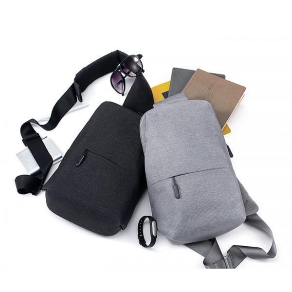 【正規品】ボディバッグ Mi City Sling Bag (ダークグレー/ライトグレー) Xiaomi 小米 シャオミ ショルダーバッグ 旅行 通学 通勤 大容量 コンパクト starq-online 09