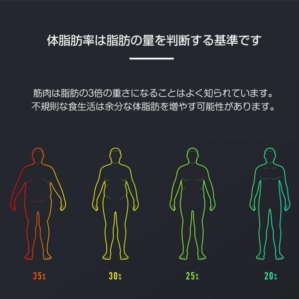 ■予約販売■ スマート 体組成計 Xiaomi スマホ連動 Mi band 4 とデータ同期 Bluetooth 内臓脂肪 健康管理  iPhone&Android対応 国内 正規代理店品 1年保証|starq-online|05