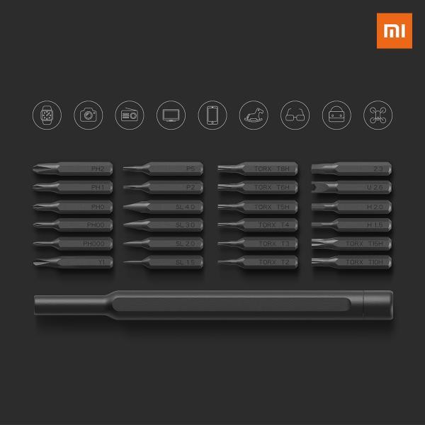 【正規品】Mi ScrewDriver Set | Xiaomi mijia Wiha ドライバーセット  24本組 マグネット吸着収納|starq-online|04