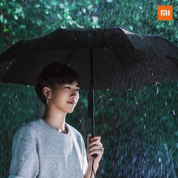 【正規品】Xiaomi(小米、シャオミ) 自動開閉式折り畳み傘 8本骨  210T高強度グラスファイバー 耐風撥水 晴雨兼用 ワンタッチ|starq-online|08