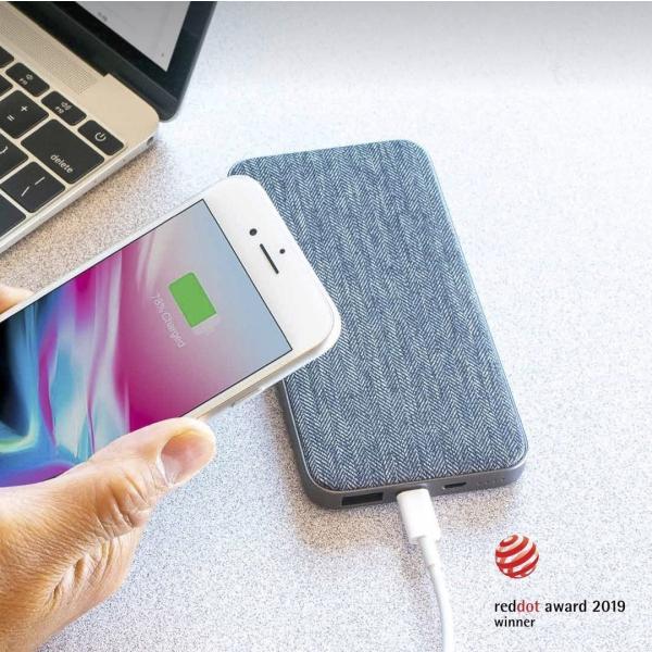 ZMI QB910 10000mAh QC&USB-PD急速充電対応モバイルバッテリー PSE認証済 ファブリックデザイン 低電流モード搭載 USBハブ機能付 18ヶ月保証|starq-online|09
