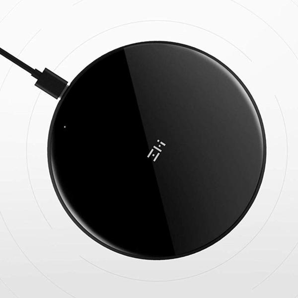 『ポイント10%』 ZMI ワイヤレス 充電器 WTX10 iPhone android アンドロイド 対応 急速 Qi 充電器 ワイヤレスチャージャー 置くだけ充電18ヶ月保証 正規代理店|starq-online|02