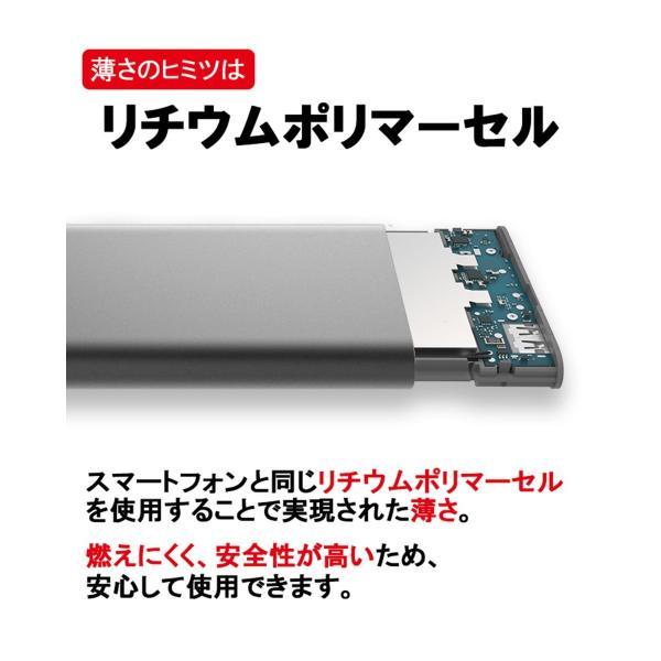 【正規品】10000mAh Mi Power Bank Pro (グレー) | Xiaomi (小米、シャオミ) モバイルバッテリー 軽量薄型 Type-Cポート搭載|starq-online|11