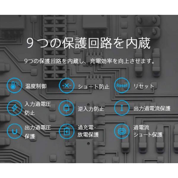 【正規品】10000mAh Mi Power Bank Pro (グレー) | Xiaomi (小米、シャオミ) モバイルバッテリー 軽量薄型 Type-Cポート搭載|starq-online|12
