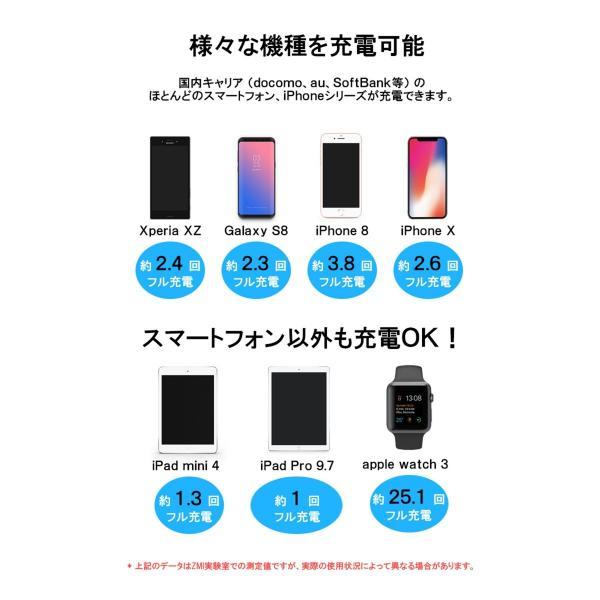 【正規品】10000mAh Mi Power Bank Pro (グレー) | Xiaomi (小米、シャオミ) モバイルバッテリー 軽量薄型 Type-Cポート搭載|starq-online|05