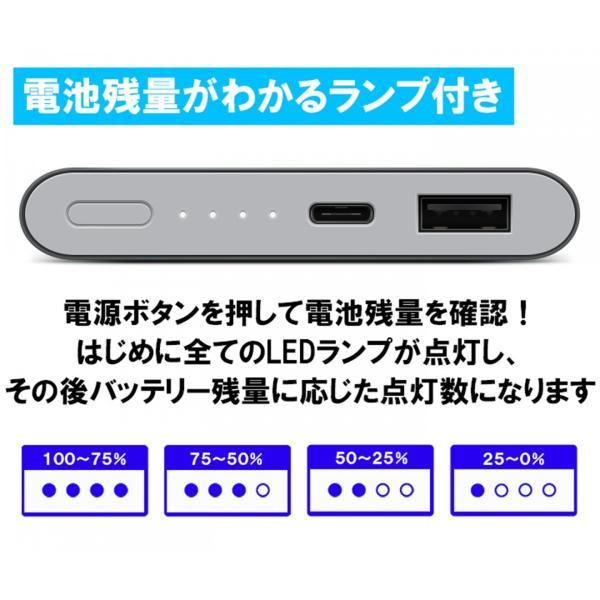 【正規品】10000mAh Mi Power Bank Pro (グレー) | Xiaomi (小米、シャオミ) モバイルバッテリー 軽量薄型 Type-Cポート搭載|starq-online|09