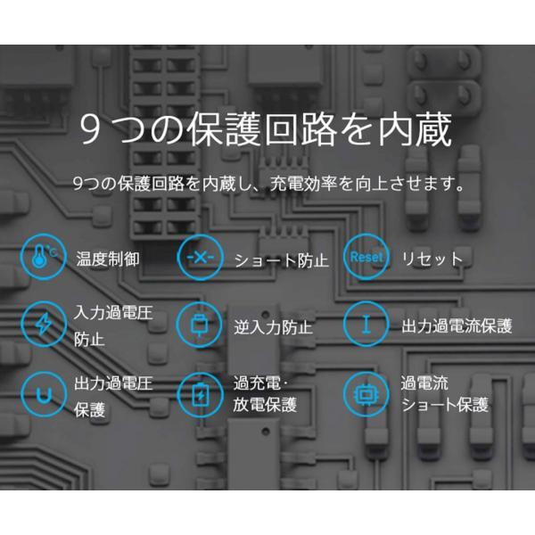 ※1/24(木)販売終了【正規品】10000mAh Mi Power Bank 2 (シルバー/ブラック) | Xiaomi (小米、シャオミ) モバイルバッテリー iPhone/iPad/Android/軽量薄型|starq-online|12