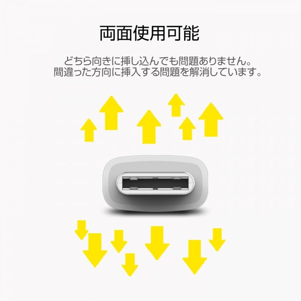 ZMI - Type-C to USBケーブルの充電とデータ同期 - ホワイト ( 100cm )|starq-online|04