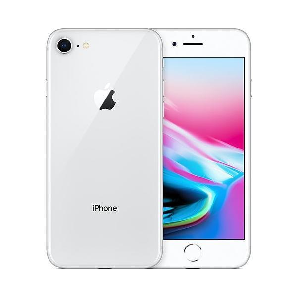 新品未使用 SIMロック解除品 iPhone8 本体 64GB シルバー docomo ○判定