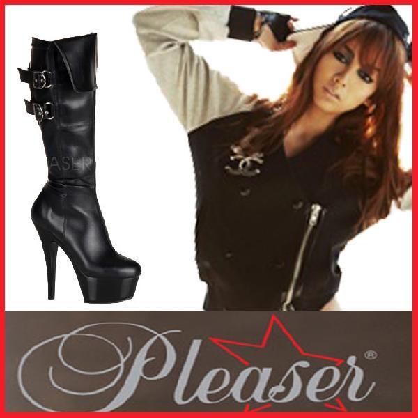 ブーツ Pleaser プリーザー 2361-KISS-2007 ヒール レディース お取り寄せ商品