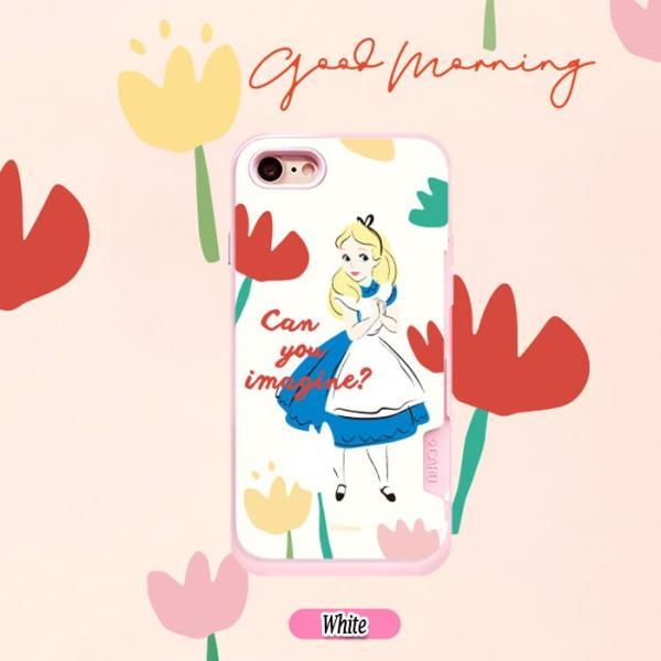 不思議の国のアリス iPhone iphone7  iphone8  iPhone6sケース アリス ディズニーグッズ  手鏡 カード収納ケース 送料無料|startreey|02