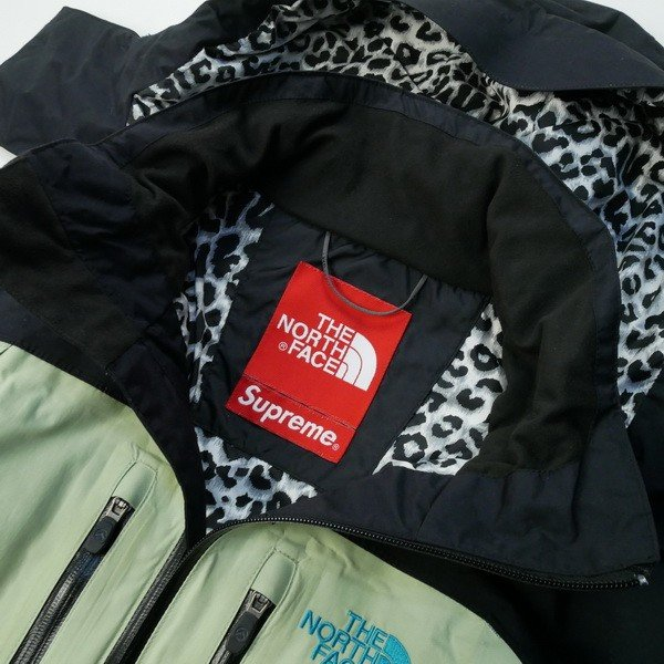 50f48477d シュプリーム SUPREME ×THE NORTH FACE MOUNTAIN SUPREME 1st GUIDE JAKET ジャケット 黒  Size【L】 【中古品-良い】【中古】