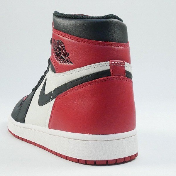 ナイキ NIKE AIR JORDAN 1 RETRO HIGH OG BRED TOE 555088-610 スニーカー 黒白 Size【28.0cm】 【新古品・未使用品】|stay246|02