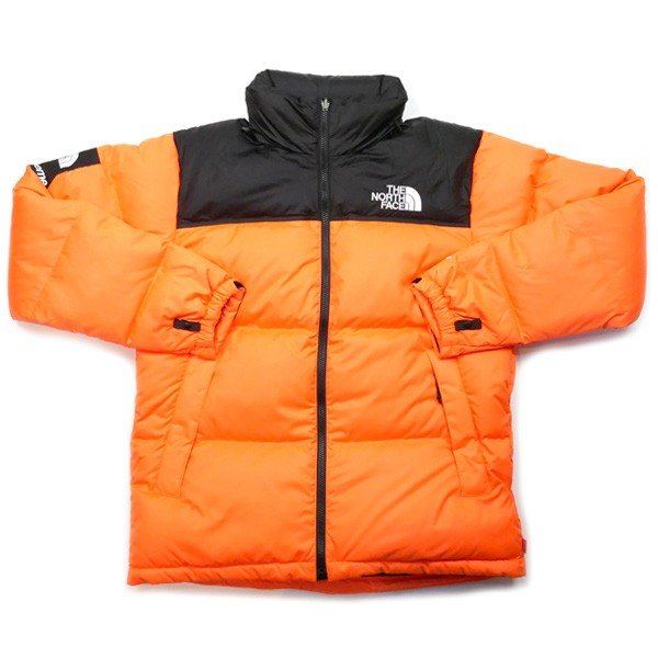 7084f483c シュプリーム SUPREME ×THE NORTH FACE 16AW Nuptse Jacket ヌプシダウンジャケット オレンジ Size【L】  ...