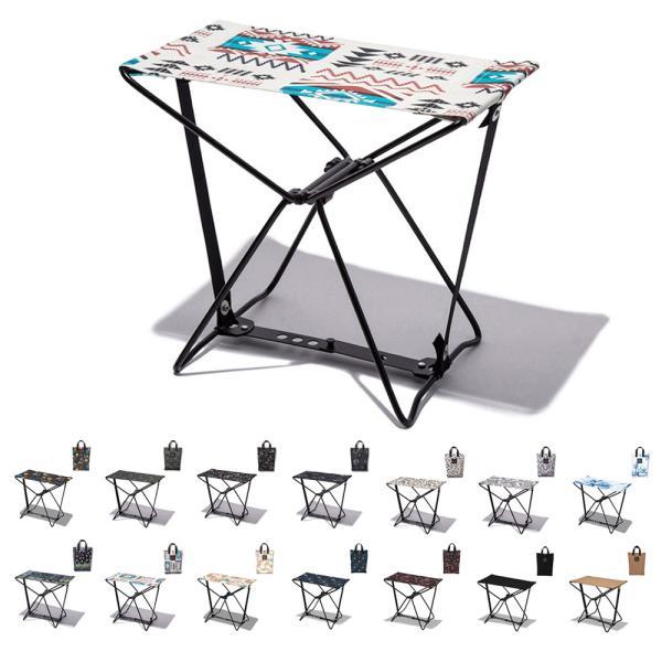 キウ KiU 椅子 600D フォールディングスツール アウトドアチェア 収納バッグ付き 防水 はっ水 イス おしゃれ アウトドア ブラック wpc K228