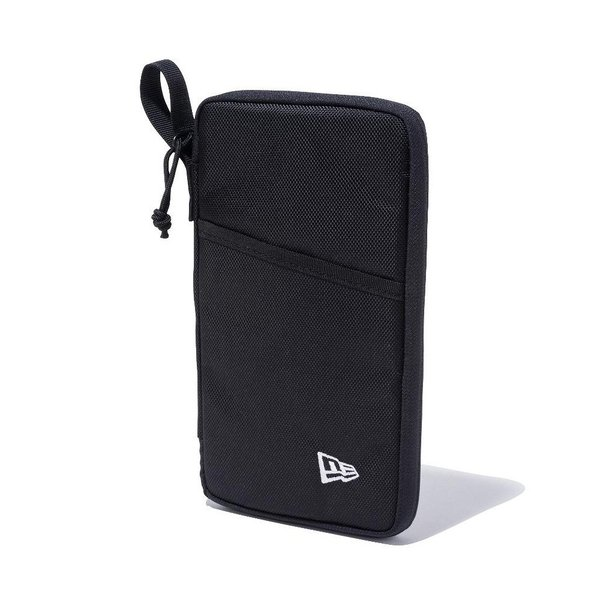 ニューエラ new era パスポートケース トラベル シリーズ  パスポート入れ メンズ ブランド 海外 旅行 かっこいい 黒 TRAVEL SERIES PASSPORT CASE 2 12325612