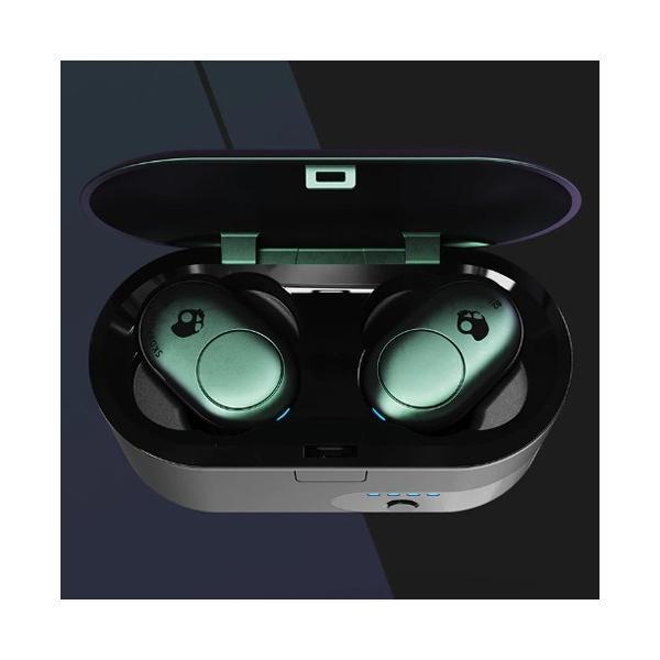 Push プッシュ ワンタッチでコントロール スカルキャンディ− イヤホン SKULLCANDY  WIRELESS ワイヤレス Bluetooth Truly Wireless