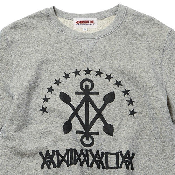 ANIMALIA アニマリア ANCHOR Sweat S/S|steelo|02