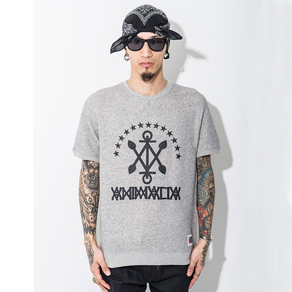 ANIMALIA アニマリア ANCHOR Sweat S/S|steelo|03