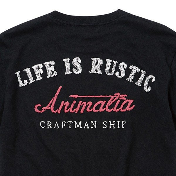 ANIMALIA アニマリア CRAFTSMAN TEE|steelo|04