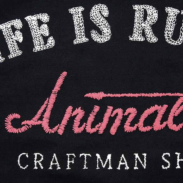 ANIMALIA アニマリア CRAFTSMAN TEE|steelo|05