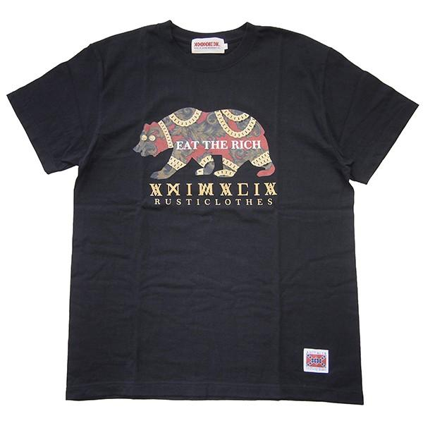 ANIMALIA アニマリア GOLD BEAR S/S TEE|steelo|02