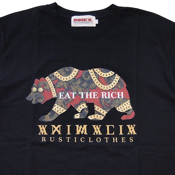 ANIMALIA アニマリア GOLD BEAR S/S TEE|steelo|03